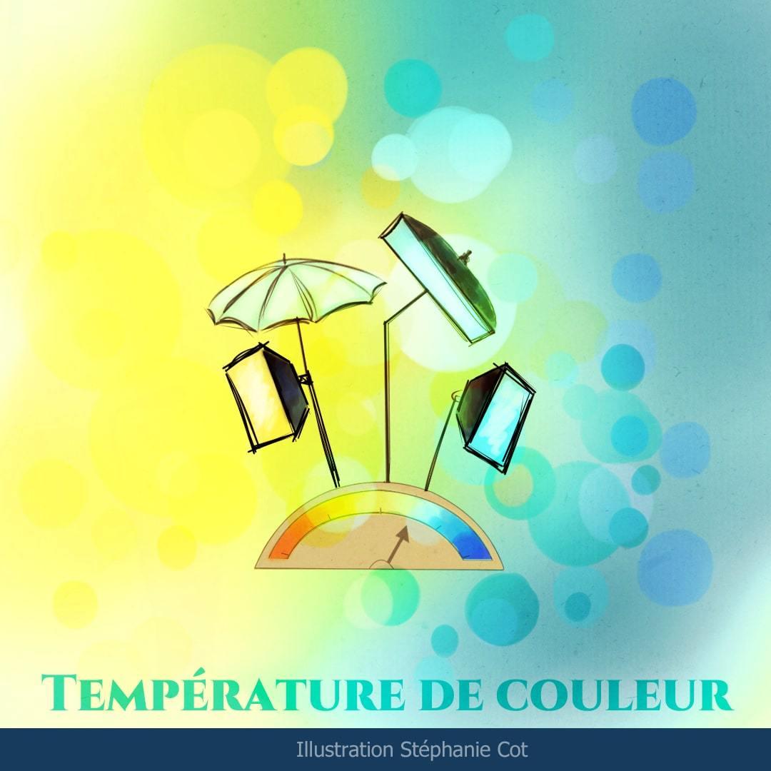 Eclairage, la temperature de couleur