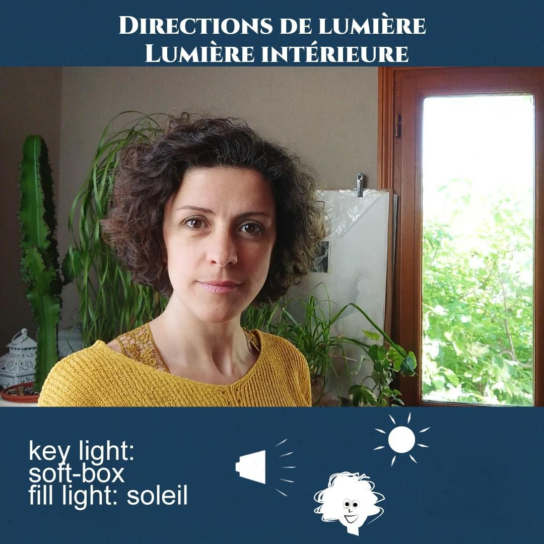 Exemple d'éclairage intérieur